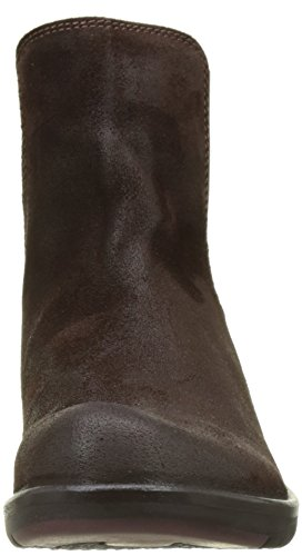 Expresso Mujer London para 027 Fly Chelsea Make Botas Marrón XdxqU0Rq