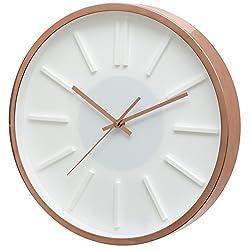 Unity Kinross 14-Inch Silent Sweep Wall Clock