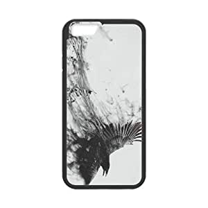 abstract bird iPhone 6 4.7 Inch Cell Phone Case Black ten-186845