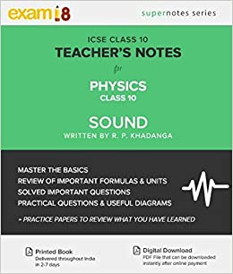 Amazon in: Buy ICSE Physics Sound - Teacher's Notes - Exam18
