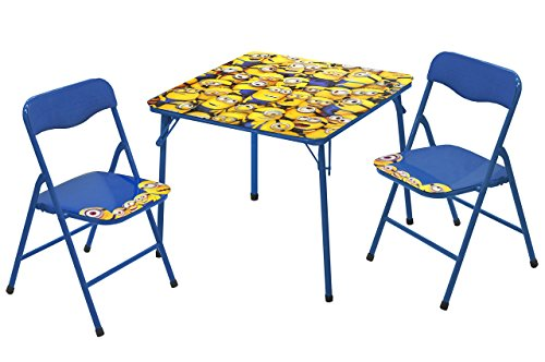 Universal Despicable Me 3 Piece Table and Chair Set by Universal