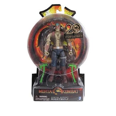 Mortal Kombat 9 Nightwolf Costumes (Nightwolf Mortal Kombat 9 6-Inch Action Figure by Jazwares)