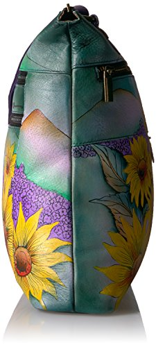 Anuschka Hand Painted Leather Large Crossbody by ANUSCHKA (Image #3)