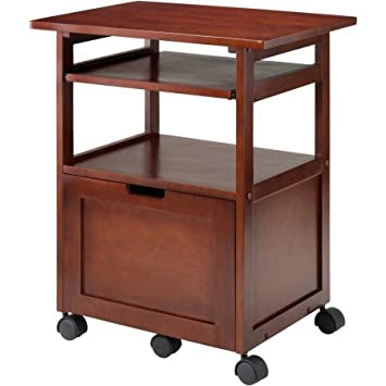 Printer And Gadget Cart, Mobile Office Cart Suitable For Documentation With  Drawer And Slide