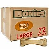 Cheap Bonies Skin Coat Health BULK BOX LARGE (72 Bones)