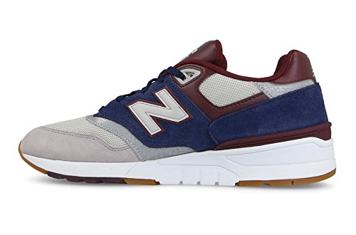 Shoes Burgundy Gnb New Blue Nb Rain Running 597 Men's Cloud Balance Pigment ICCqwgU