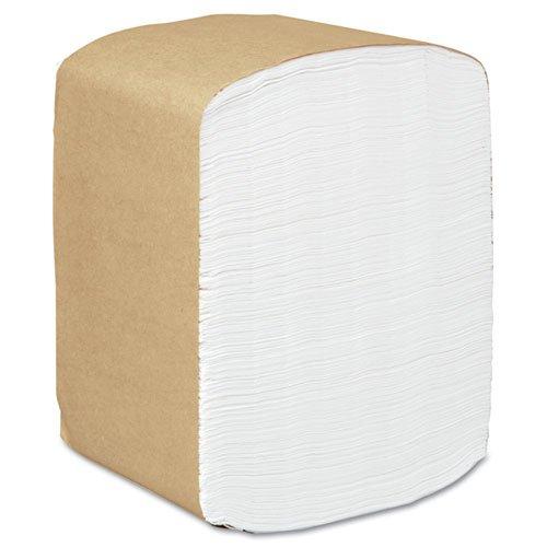 KIMBERLY-CLARK PROFESSIONAL SCOTT Full Fold Dispenser Napkins, 1-Ply, 13 x 12, White - Includes 16 packs of 375 napkins each.