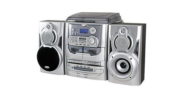 Soundmaster MCD 5035 - Cadena musical Hi-Fi estéreo con tocadiscos ...