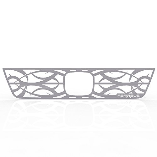 Ferreus Industries Grille Insert Guard Tribal Brushed Stainless fits: 2003-2006 Honda Element TRK-140-08-Brushed-a