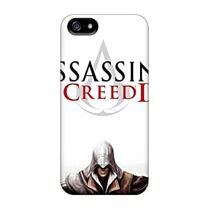 New QhNvd15563IHnuy Assassins Creed 2 Skin Case Cover Shatterproof Case For Iphone 5/5s
