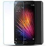 Plus Tempered Glass for Xiaomi Mi 5 Mi5 0.3 mm thickness/9H Hardness/2.5D Curved Edge/Reduce Fingerprint/ No Rainbow/Bubble Free & Oil Stains Coating with Alcohol wet cloth pad & clean micro fibre Dry cloth/Premium Anti Explosion