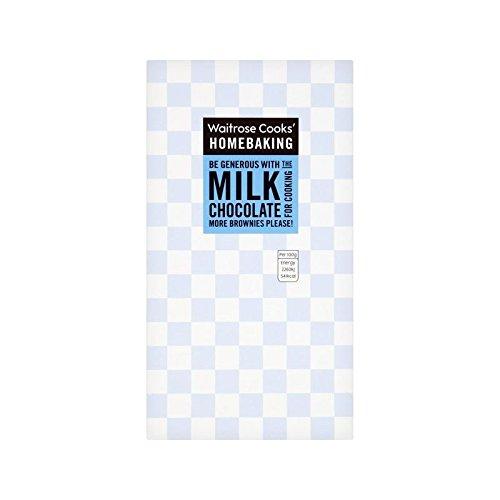 Cooks' Ingredients Single Origin Milk Chocolate Waitrose 150g - Pack of 2 by Cooks' Ingredients