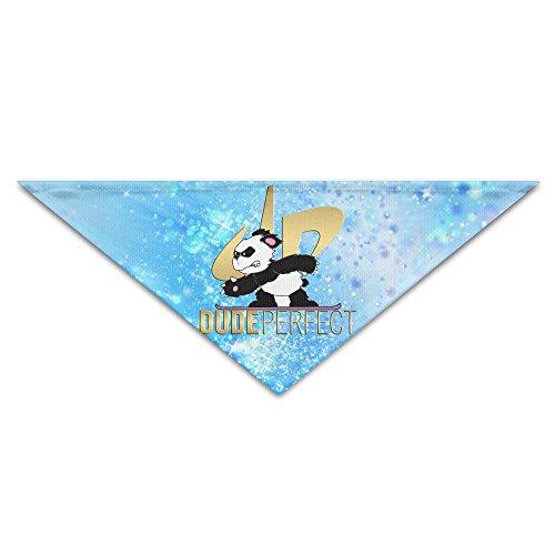 Pet Bandanas - Personalized DP Panda Pet Bandana Scarf - Triangle Scarf Collar Neckerchief For Dog Cat -