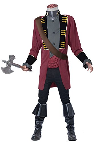 [Mememall Fashion Legend Of Sleepy Hollow Classic Headless Horseman Adult Costume] (Legend Of Sleepy Hollow Costumes)