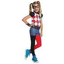 Rubies Costume Kids DC Superhero Girls Harley Quinn Costume, Small