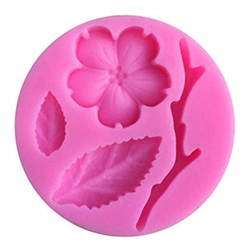Sandalas Silicone Mold Fondant Cake Decorating Tools (Peach Blossom)