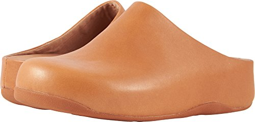FitFlop trade; Womens Shuv™ Leather Caramel Size 8 by FitFlop