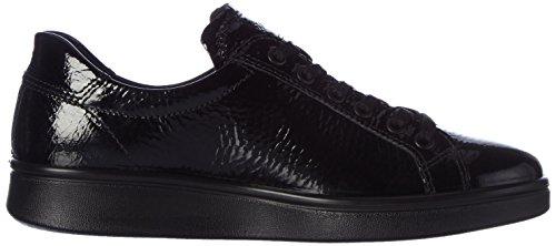 ECCO Soft 4, Zapatillas para Mujer Negro (Black)