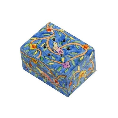 (Yair Emanuel Havdalah Spice Box with Oriental Design (Includes Cloves))