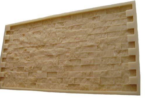GlobMarble Mosaic Stone Rubber Mold. Concrete Veneer Paver. Ms 821/1 ()