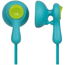 Panasonic RP-HV41-A Eardrops Stereo Earbud Style Earphones, Light Blue/Light Green (Discontinued by Manufacturer)