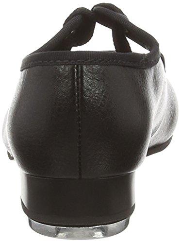 para Bloch poliuretano Zapatillas de mujer de danza Negro ZXrTXnqRwx