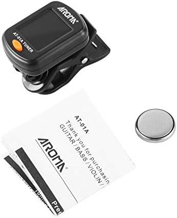 Aroma AT-01A Clip para Afinador de Guitarra Universal para ...