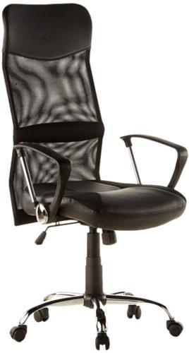 hjh OFFICE Drehstuhl Büro Bürostuhl Chefsessel ergonomisch Armlehne 3D ZOSA NET