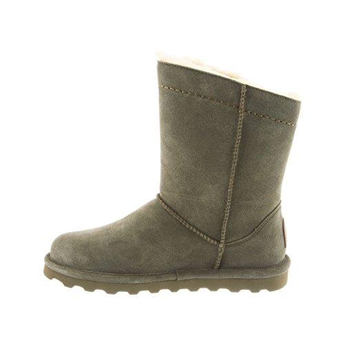 BEARPAW Morgan Womens Boot 10 B(M) US Olive