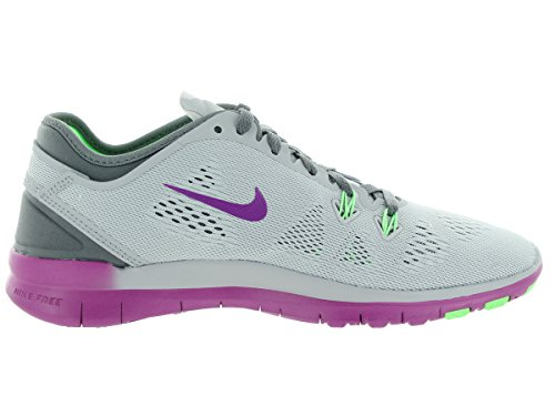 Nike Womens Free 5.0 Tr Fit 5 Prt Training Shoe Women US Wolf Grey/Voltage Green/Vivid Purple aslz1pOoEC
