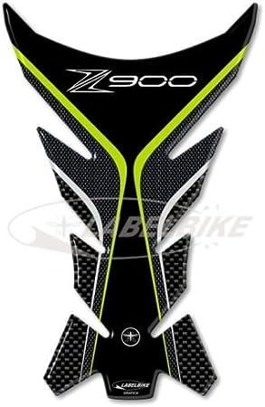 Labelbike – Adhesivo Protector para depósito Fabricado en Gel 3D para Moto Kawassaki Z900.: Amazon.es: Electrónica