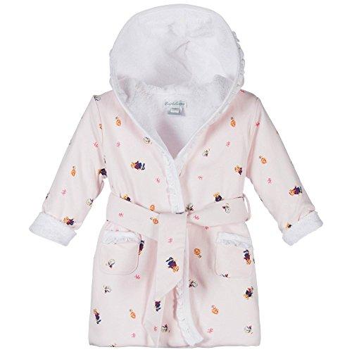 Ralph Lauren Childrenswear Hooded Terry Bathrobe-pink Baby Girl (9 Months)