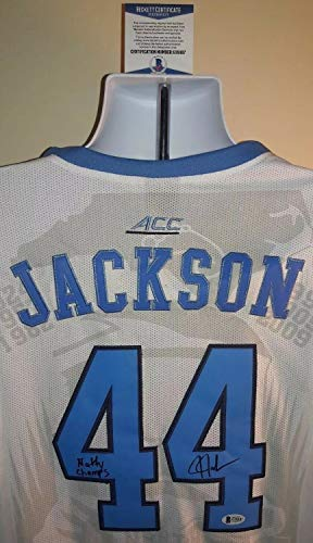 (Justin Jackson North Carolina Tar Heels Autographed Signed Memorabilia Jordan Jersey - Beckett Authentic)