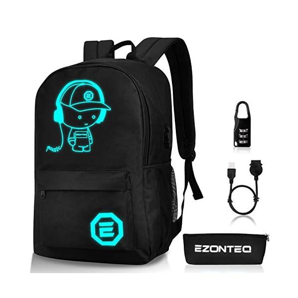 Zaino Casual Zaino Impermeabile per Viaggio scuola e business Computer laptop pc 15.6 pollici Zaino Unisex Misura grande… 1 spesavip
