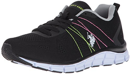 Women's Fashion Assn women's Black multi Joan s e Sneaker Polo U xPq0Iw70