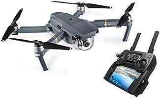 DJI Mavic Pro Dron con Cámara 4K, Alcance de 7 Km, 5 Sensores Visuales, Autonomía de Vuelo 27 Minutos
