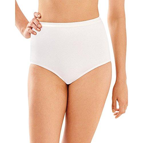 Bali Full-Cut-Fit Stretch Cotton Brief (2324) White, 7