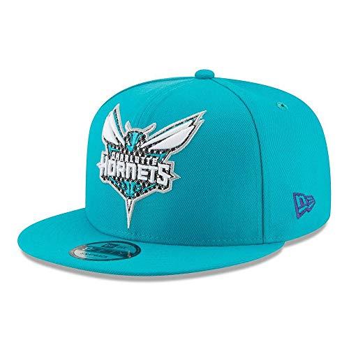New Era Charlotte Hornets Shimmer NBA Snapback Hat Adjustable Blue