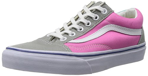 Vans Gray Old Unisex Pink Skool U Zapatillas Adulto HrzpHq