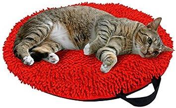 Amazon.com: Karlie 68636 catmaxx cojín rojo de 17.7 inch ...