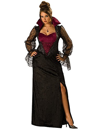 Midnight Vampiress Adult Costume - Plus Size 2X
