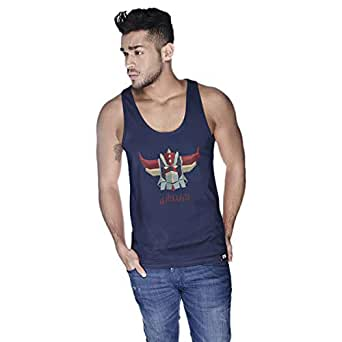 Creo Grindyzer Super Hero Tank Top For Men - Xl, Navy
