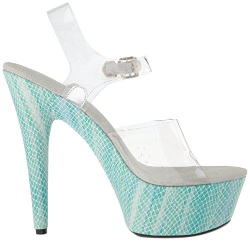 Platform Teal Sandalen Frauen Ellie Shoes aCXqnw66xE