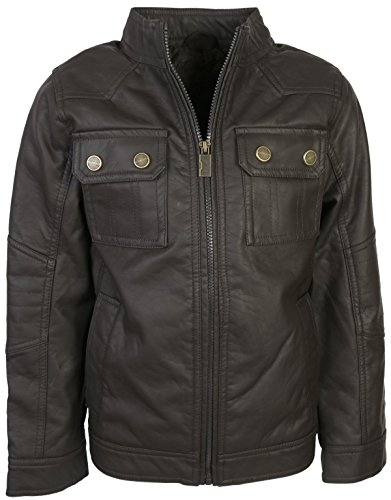 Urban Republic Leather Officer Jacket