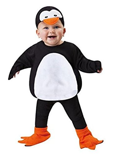 Totally Ghoul Penguin Vest Costume, Size: 2T (1-2 years old)