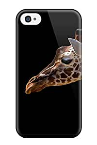 New Snap-on ZippyDoritEduard Skin Case Cover Compatible With Iphone 4/4s- Giraffe