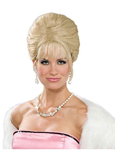 Forum Novelties Women's High Society Princess Costume Wig, Blonde, One Size