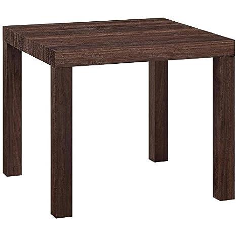 Super Amazon Com Mainstays Parsons Square End Table Multiple Creativecarmelina Interior Chair Design Creativecarmelinacom