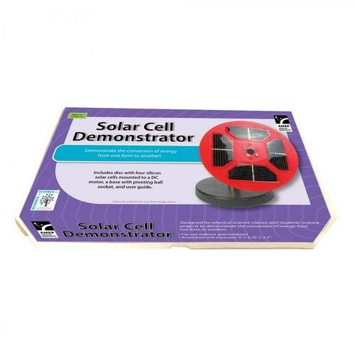 American Educational Products 7-1849-2-RT, Solar Cell Demonstrator, Pack of 12 pcs