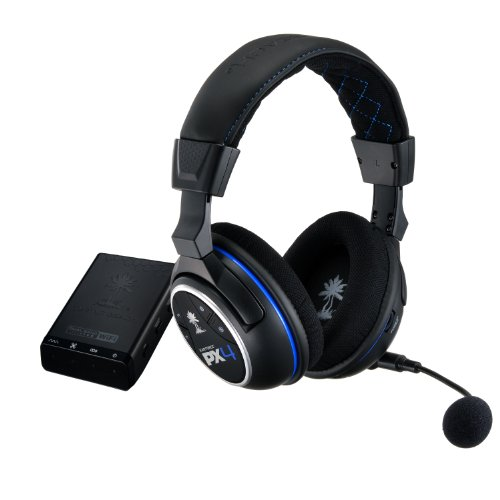 Turtle Beach Ear Force PX4 Wireless Dolby 5.1 Surround Sound PlayStation 4 Gaming Headset (TBS-3276-01)